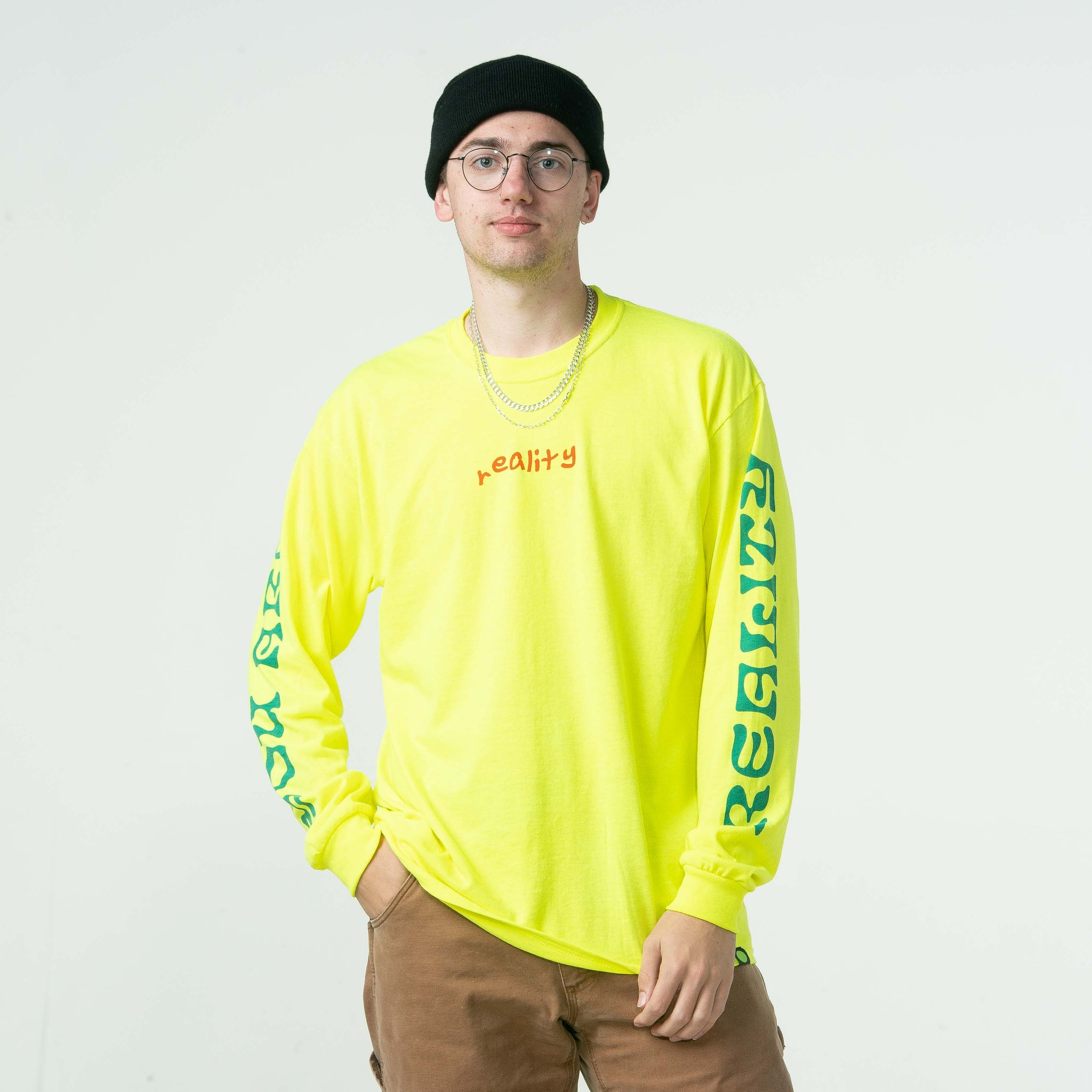 Reality Long Sleeve Tee