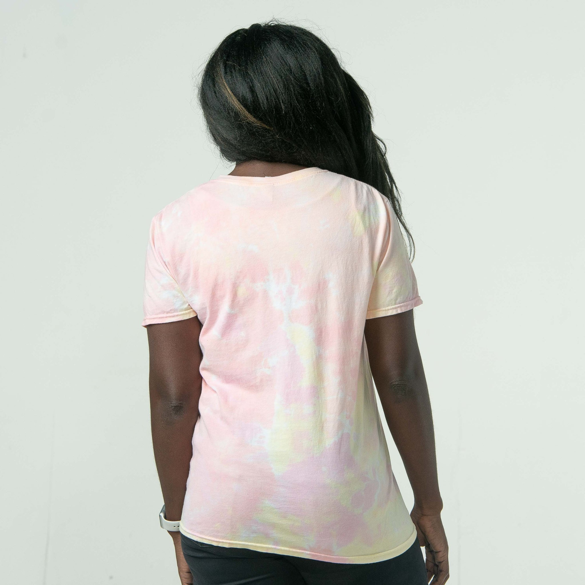 'Do It Again' Tie Dye Tee
