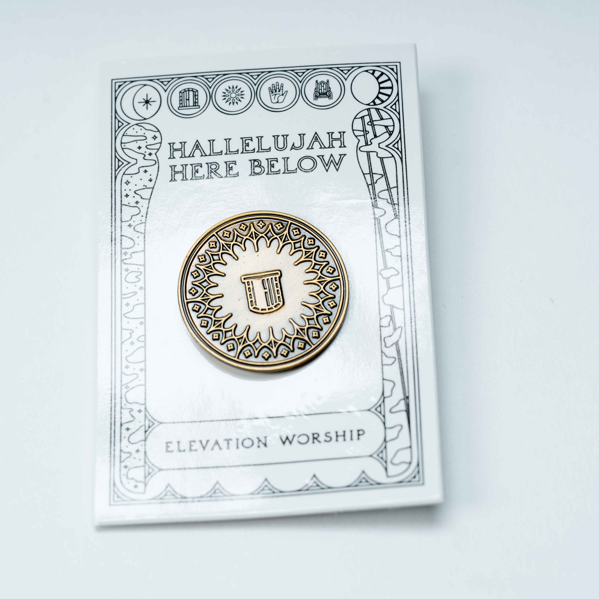 Elevation Worship Enamel Pin - Door
