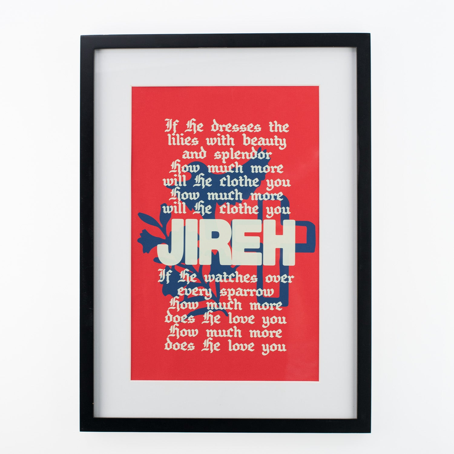 Jireh Poster - Red