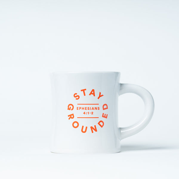 'Stay Grounded' mug
