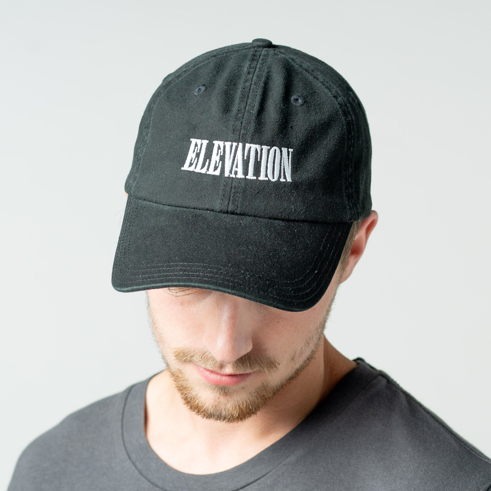 'Elevation' embroidered hat
