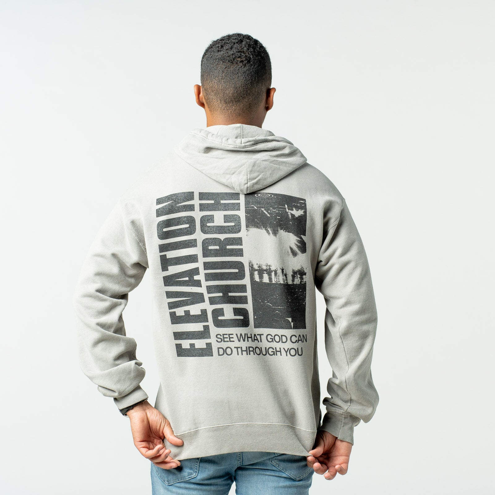 Elevation Church - Concrete Grey Hoodie