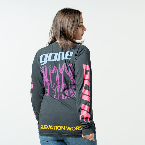 'Gone' long sleeve tee