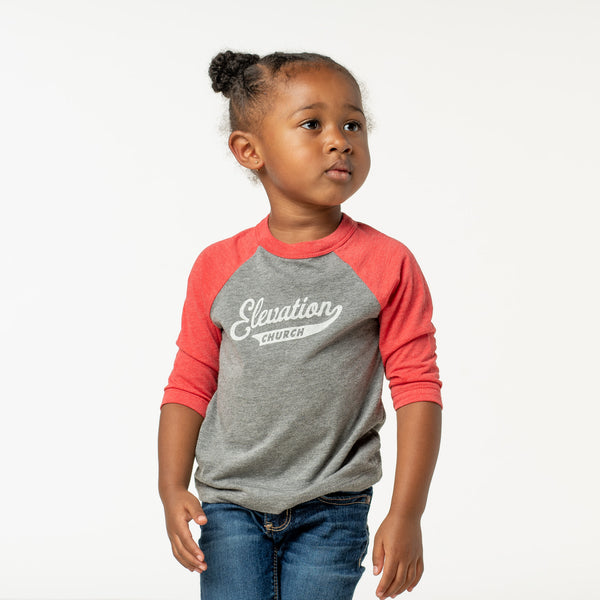 Kids 'Elevation' Baseball Tee