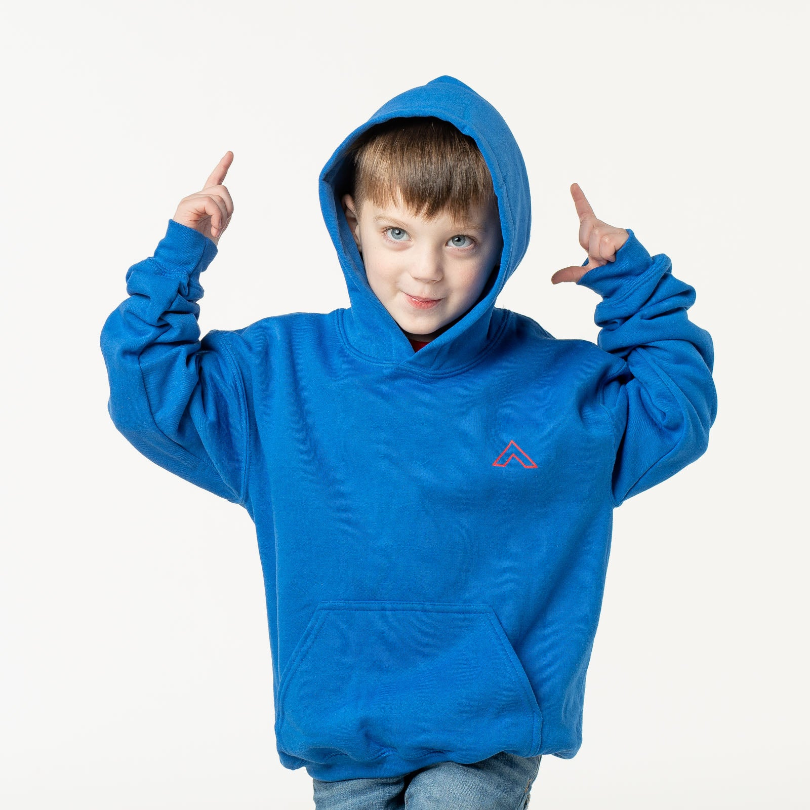Kids 'See What God Can Do Through You' Blue Hoodie