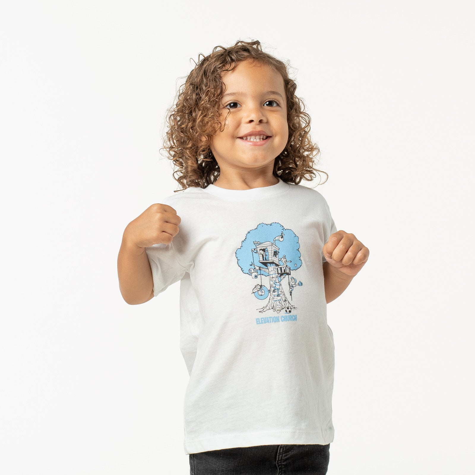 Kids Treehouse Tee - Blue