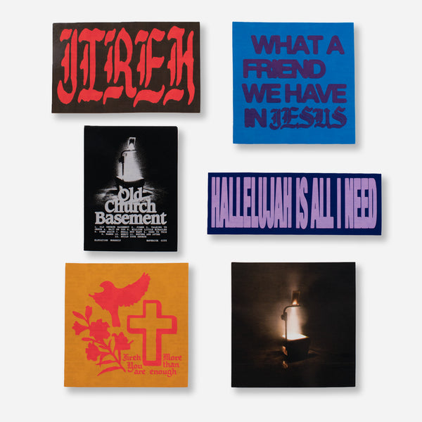 Old Church Basement Sticker Pack