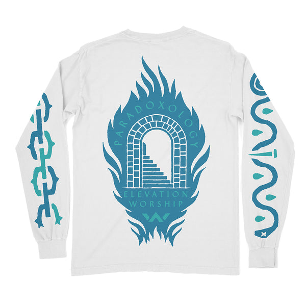 Paradoxology White Long Sleeve Tee
