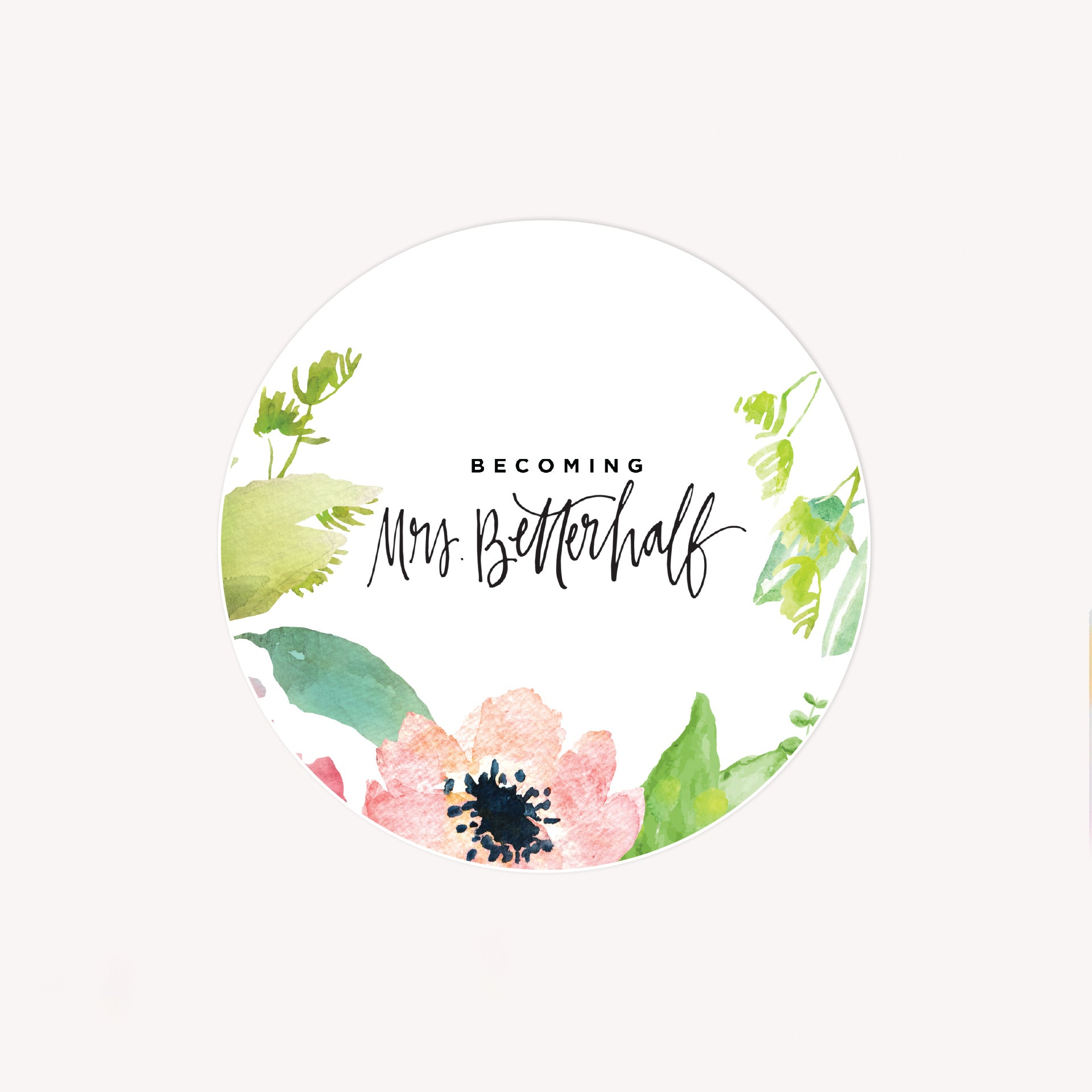 Becoming Mrs. Betterhalf Sticker Pack