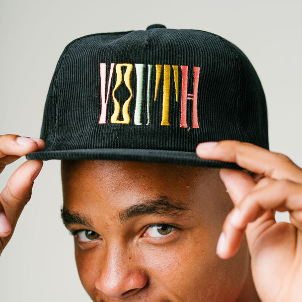 'YOUTH' Snapback Corduroy hat