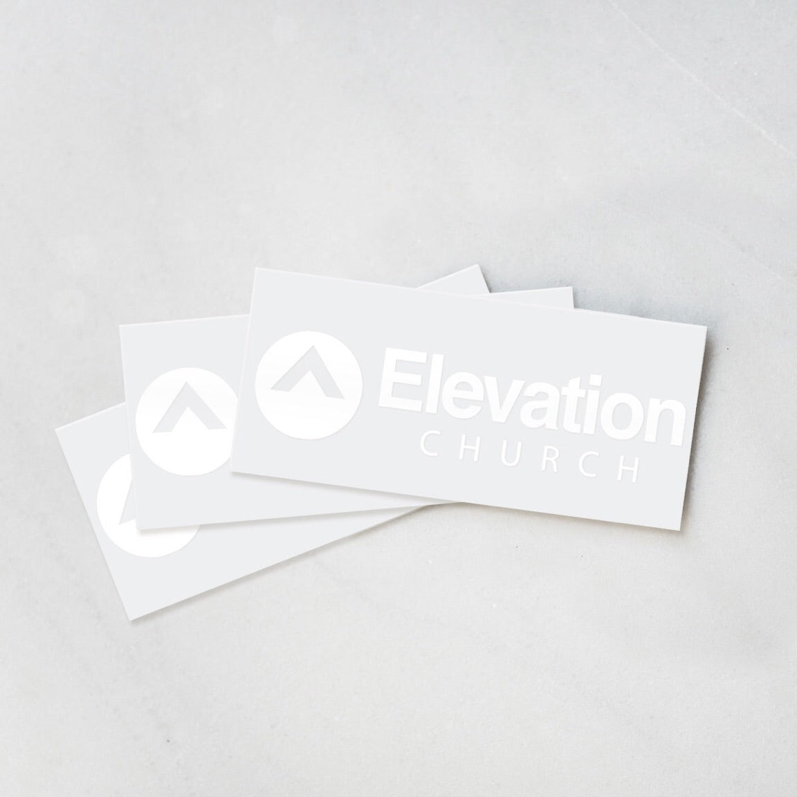 Elevation Church Car Decal