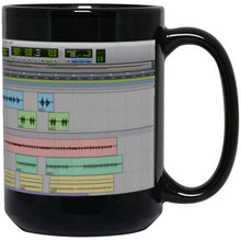 Load image into Gallery viewer, PT Big Black Mug