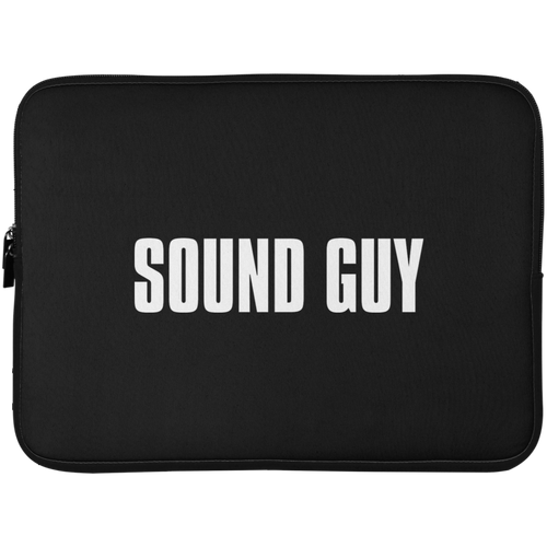 Sound Guy Laptop Sleeve