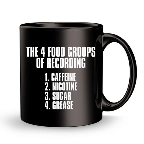 4 Food Groups Mug