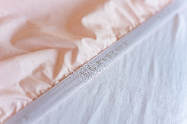 100% Supima Cotton, 400 Thread Count Percale Ogee Print Sheet Set 1