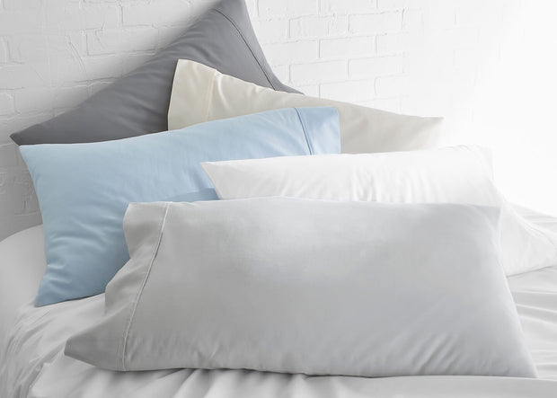 100% Supima Cotton, 500 Thread Count Sateen Solid Sheet Set 1