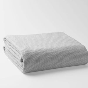 100% Organic Cotton Basket Weave Blanket
