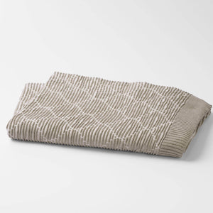 100% Organic Cotton Ogee Knit Throw Blanket