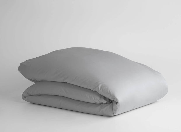 100% Supima Cotton, 500 Thread Count Sateen Solid Duvet Cover 1