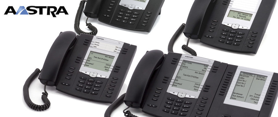 Aastra phones offer exceptional features and flexibility to fit any business need.
