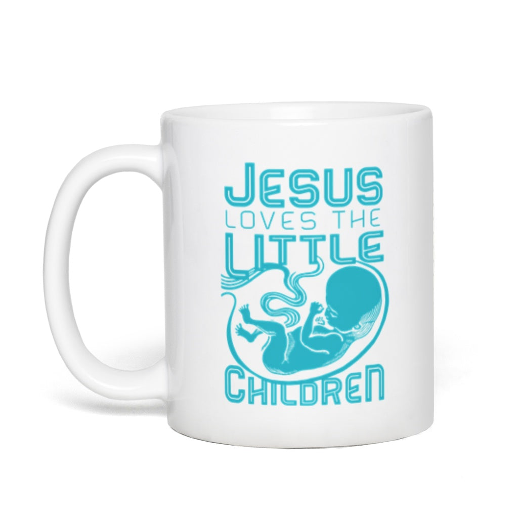 Jesus Loves the Little Children Mug (11oz)