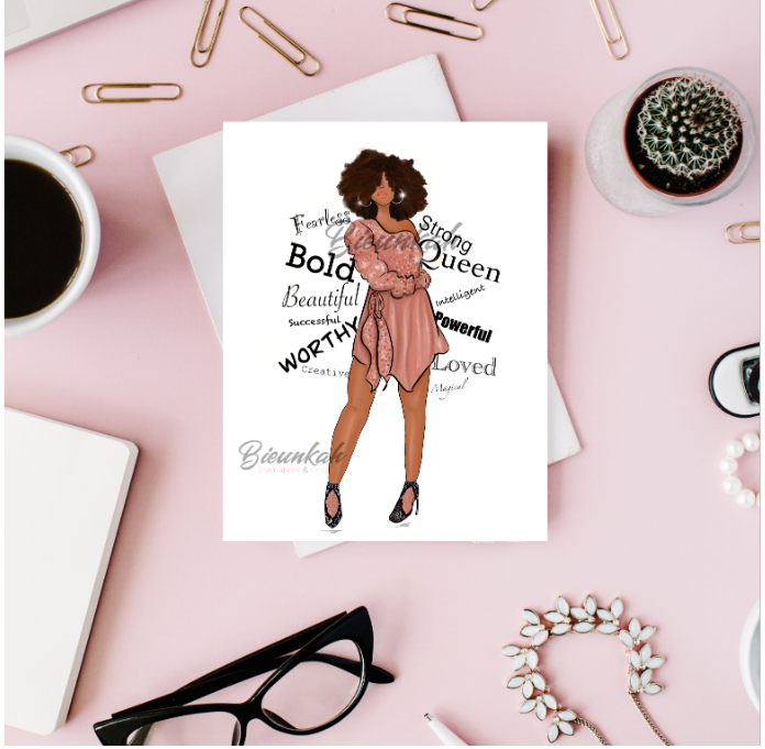 """Affirmations"" Card 