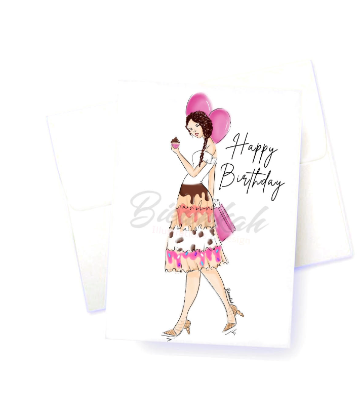 """Birthday Treats"" Card"