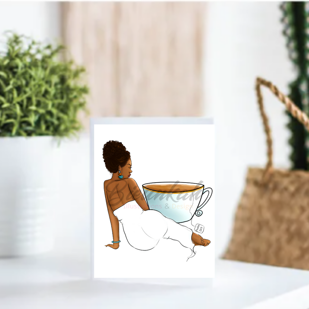 """Fill Me Up"" Card 