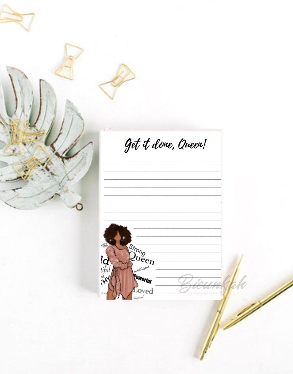 """Get It Done, Queen"" Notepad"