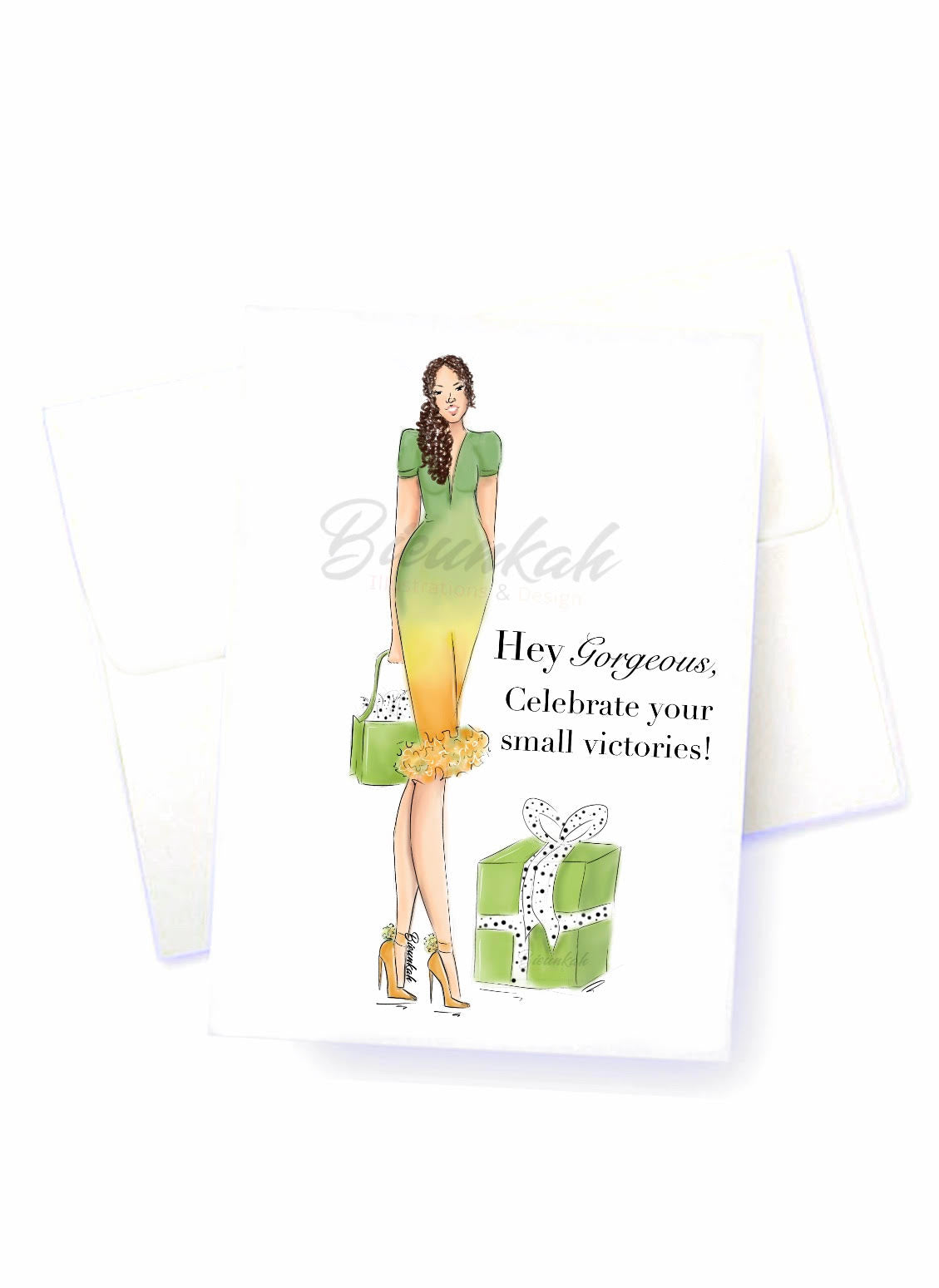 """Hey Gorgeous"" Card"
