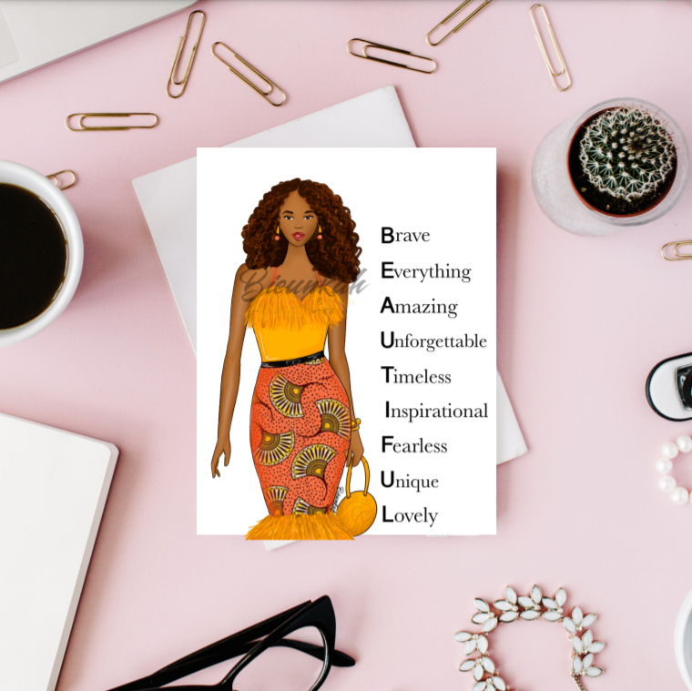 """Simply Beautiful"" Card 