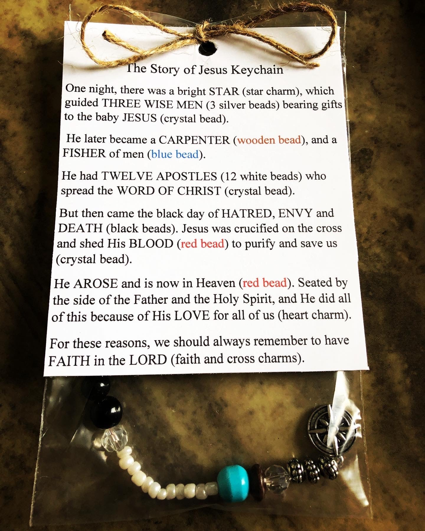 """Story of Jesus"" Accessories"