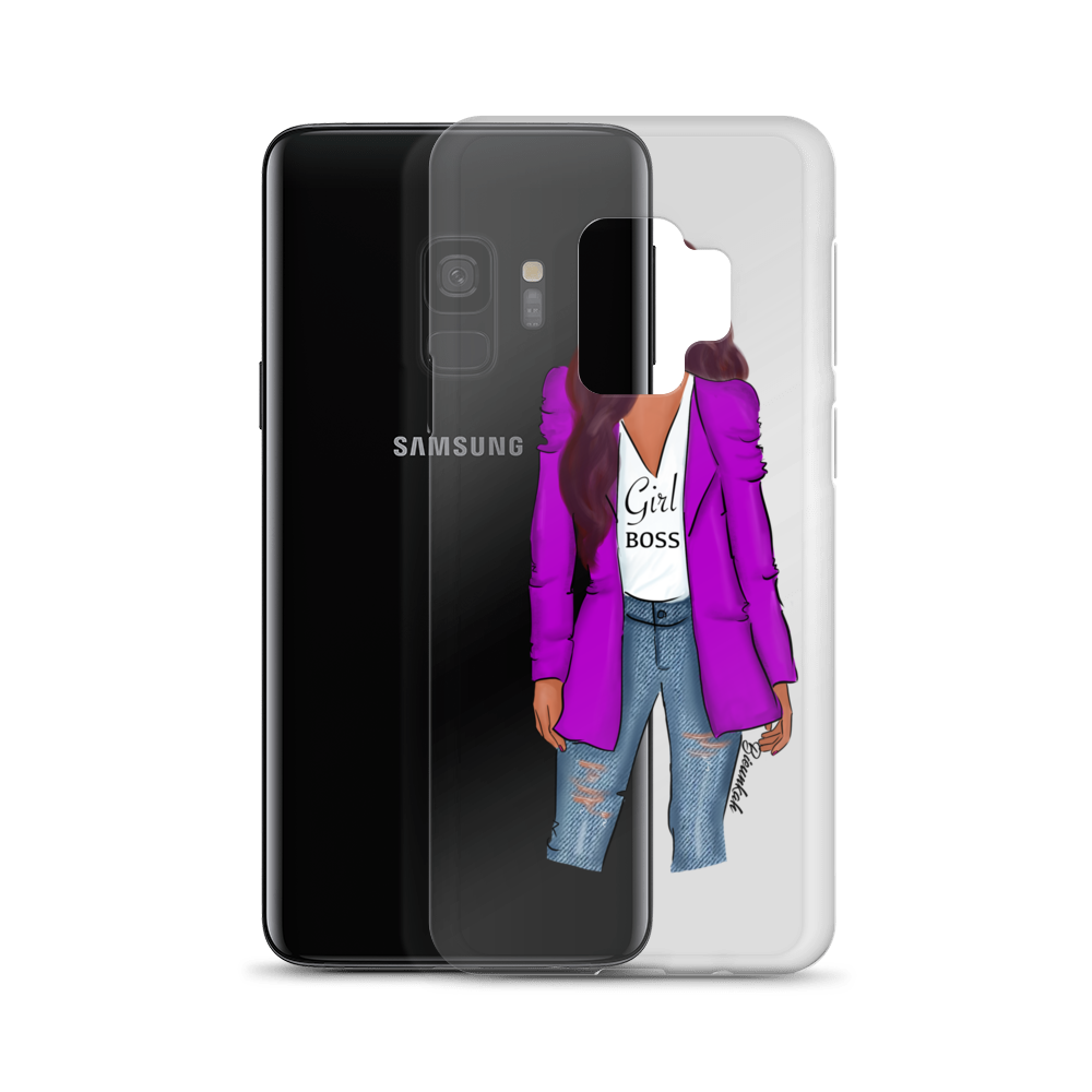"""Girl Boss"" Samsung Case"