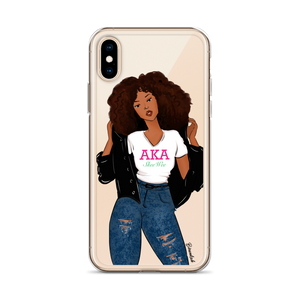 """AKA Girl"" iPhone Case"