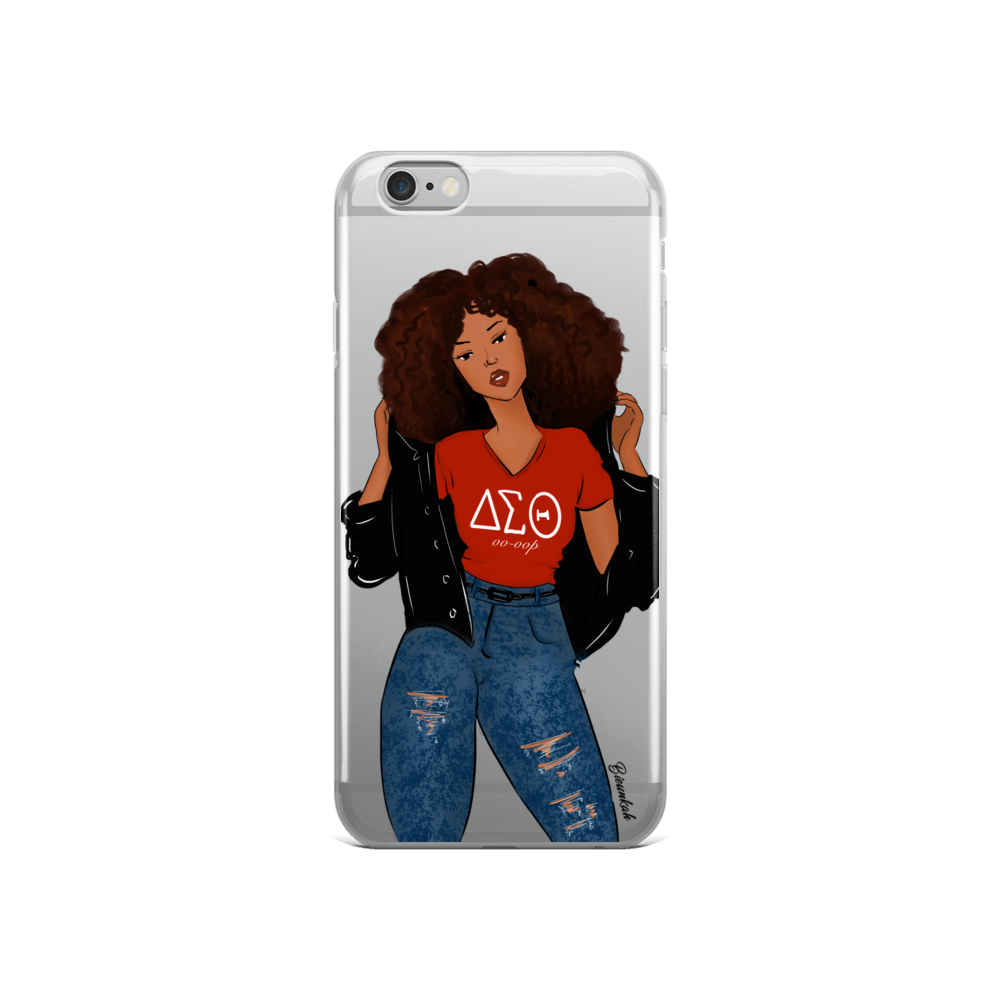 """Delta Girl"" iPhone Case"