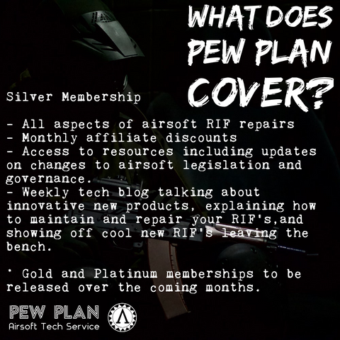 Pew Plan Monthly Silver Package