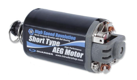 GUARDER HIGH SPEED REVOLUTION SHORT TYPE MOTOR - Airsoft Imports