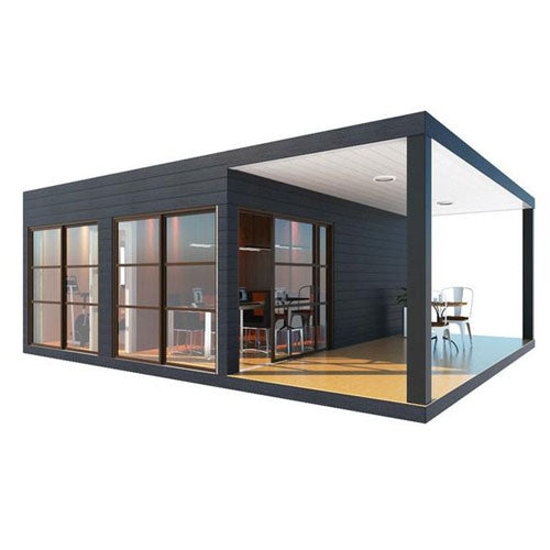 Container Home with Deck