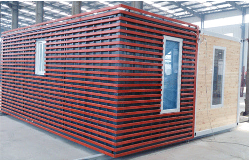 20ft container with wood work