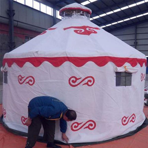 10ft Zion Galvanized Steel Yurt
