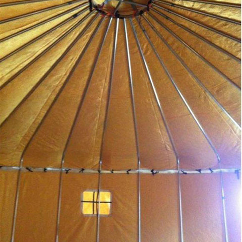 16ft Everglades Galvanized Steel Yurt Tent