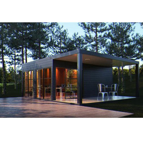 Bedroom Container Home Covered Deck Simpleterra Provider Alternative Living
