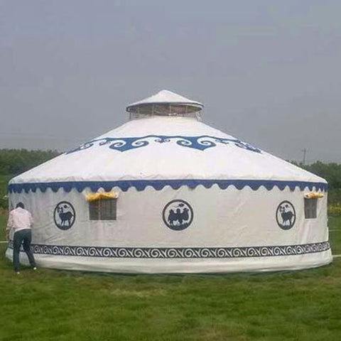 30ft Acadia Galvanized Steel Yurt Tent