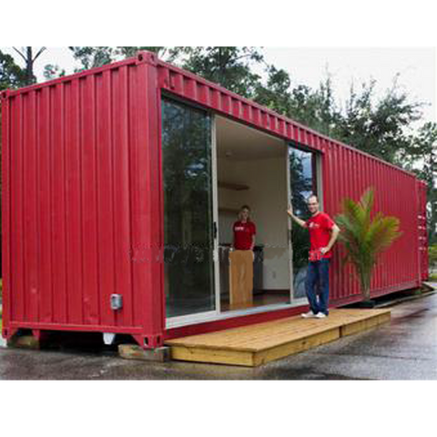 40ft 1-Bedroom Shipping Container Home