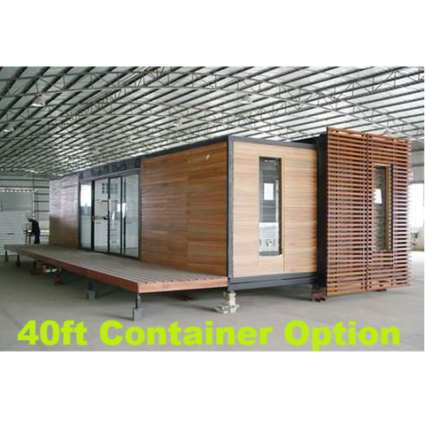 2 Bedroom Shipping Container Home With Deck