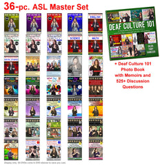 36-Piece ASL Master Set with Free Shipping