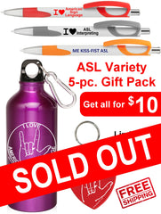 New! ASL Variety 5-pc. Gift Pack - Free S&H
