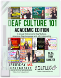 Newly Updated for 2020! Deaf Culture 101 Book + FREE S&H