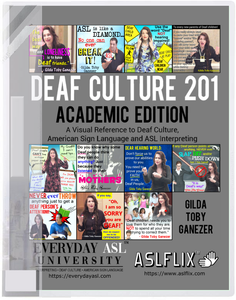 New! Deaf Culture 201 Book